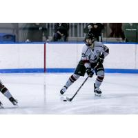 Defenseman Ryan Jackson with Manhattanville College