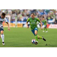 Seattle Sounders FC defender Brad Smith