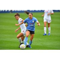 Chicago Red Stars midfielder Vanessa DiBernardo vs. the Washington Spirit