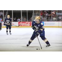 Forward Dylan Malmquist with Notre Dame