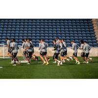 Chicago Fire FC in training
