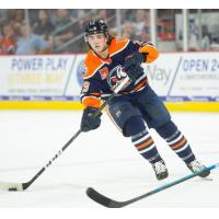 Defenseman Logan Day with the Bakersfield Condors