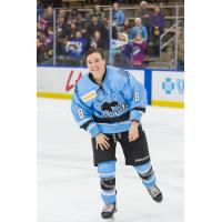 All-Star Kelly Babstock with the Buffalo Beauts