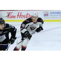 Vancouver Giants forward Justin Lies