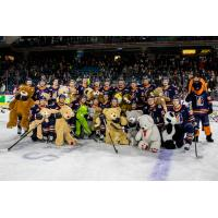 Kamloops Blazers' Teddy Bear Toss