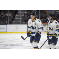 Sioux Falls Stampede forwards Will Dineen and Jay Buchholz