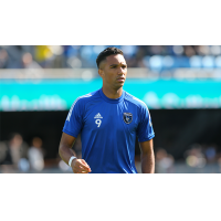 San Jose Earthquakes forward Danny Hoesen