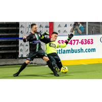 St. Louis Ambush goalkeeper Paulo against the Dallas Sidekicks