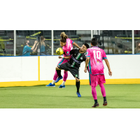 St. Louis Ambush tangle with the Dallas Sidekicks