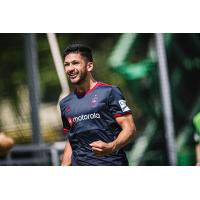 Chicago Fire FC defender/midfielder Mauricio Pineda