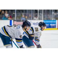 Brent Johnson (left) and Sam Rhodes of the Sioux Falls Stampede