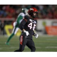 Calgary Stampeders running back Charlie Power