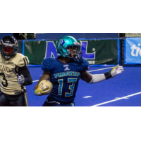 Defensive back Kiante Northington with the Massachusetts Pirates
