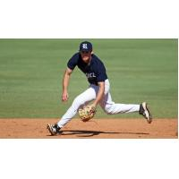 Infielder Connor Walsh with Rice University