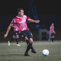 Defender Dominick Zator with Cavalry FC