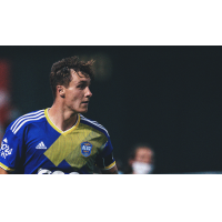 Forward Benji Kikanovic with Reno 1868 FC