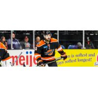 Defenseman Chase Stewart with the Fort Wayne Komets