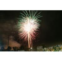 Fireworks at TD Bank Ballpark, home of the Somerset Patriots