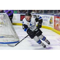 Forward Chad Butcher with the Wichita Thunder