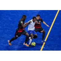 Kansas City Comets with possession vs. the Ontario Fury