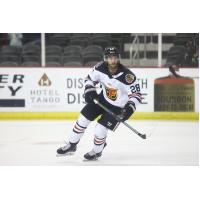 Forward Michael McNicholas with the Indy Fuel