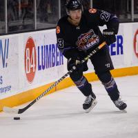 Knoxville Ice Bears right wing Jacob Benson