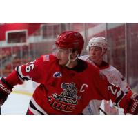 New Jersey Titans forward Jake Suede against the Northeast Generals