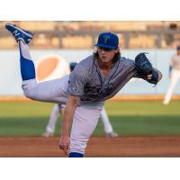 Ryan Pepiot delivered a dominate five scoreless innings for the Tulsa Drillers