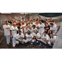 Long Island Ducks celebrate first half North Division title
