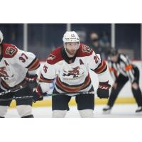 Winger Jeremy Gregoire with the Tucson Roadrunners