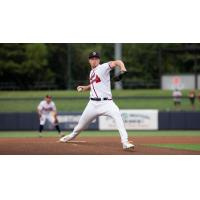 Rome Braves on the mound